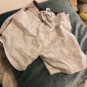 BHS boys khaki shorts 2T